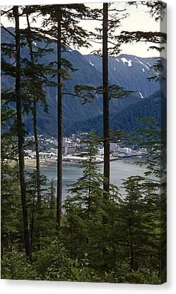 Juneau Skyline Douglas Island Canvas Print