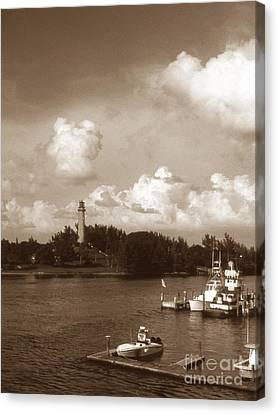 Jupiter Inlet Lighthouse Canvas Print