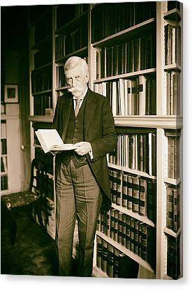 Analog Canvas Print - Justice Oliver Wendell Holmes 1924 by Mountain Dreams