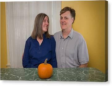 Kathy And Allan Canvas Print