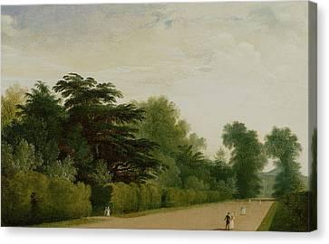 Kensington Gardens Canvas Print by John Martin