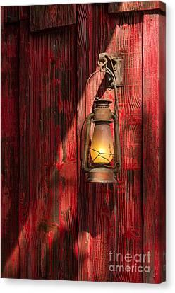 Kerosene Lantern Canvas Print by Carlos Caetano