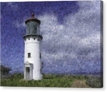 Kilauea Lighthouse Canvas Print by Renee Skiba