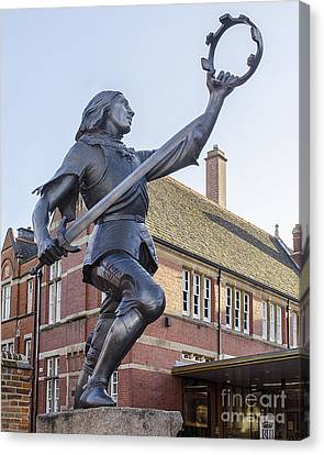 Shakespear Canvas Print - King Richard The Third by Linsey Williams
