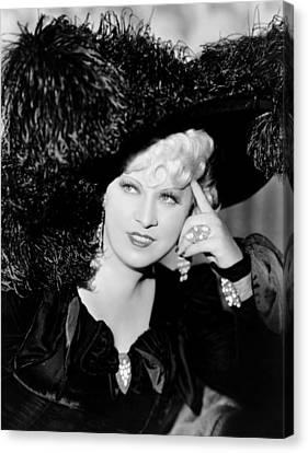 Klondike Annie, Mae West, 1936 Canvas Print