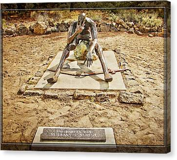 Korean War Monument Canvas Print
