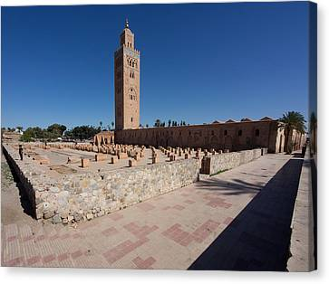 Moroccan Canvas Print - Koutoubia Minaret Built By Yacoub El by Panoramic Images