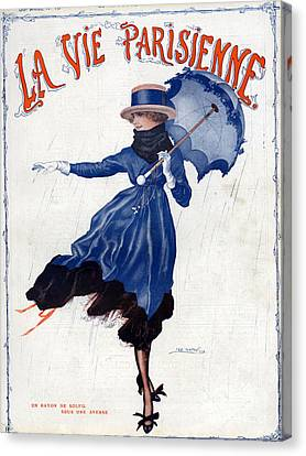 La Vie Parisienne 1918 1910s France Leo Canvas Print by The Advertising Archives