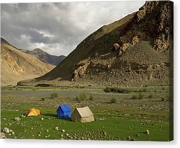 Ladakh, India The Landscapes Canvas Print by Jaina Mishra