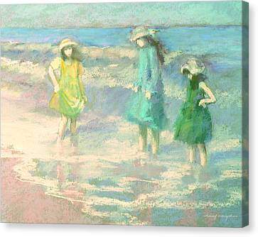Ladies Day Canvas Print by J Reifsnyder