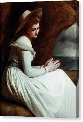Lord Admiral Nelson Canvas Print - Lady Emma Hamilton (1765-1815) by Granger