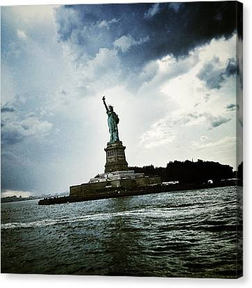 Lady Liberty Canvas Print by Natasha Marco