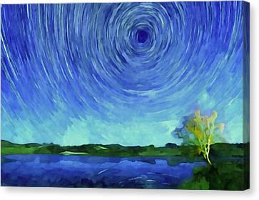Lake Canvas Print by Lanjee Chee
