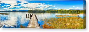 Lake Mahinapua Canvas Print