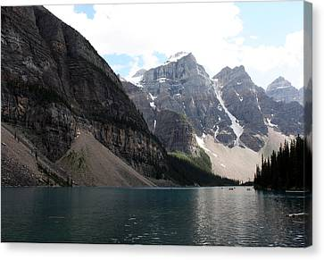 Lake Moraine Canvas Print by Carolyn Ardolino