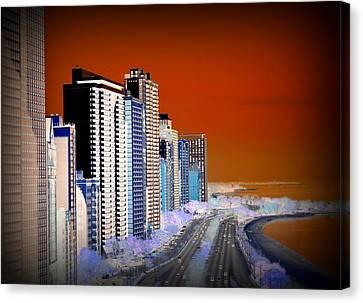 Lake Shore Drive Canvas Print
