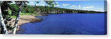 Lake View, Lake Superior, Duluth Canvas Print by Panoramic Images