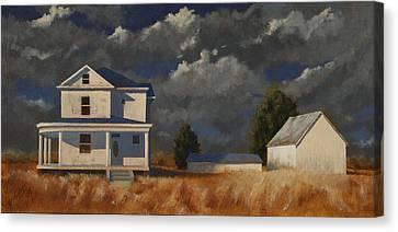 Land Mark Canvas Print by John Dean