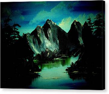Landscape Canvas Print by Robert Cunningham