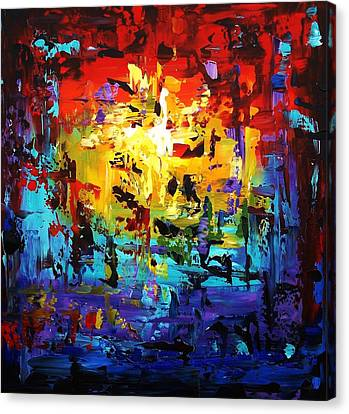 Large Painting Canvas Print by Jolina Anthony