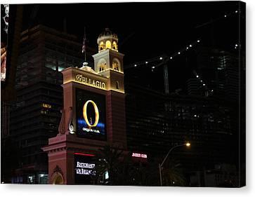 Las Vegas - Bellagio Casino - 12121 Canvas Print