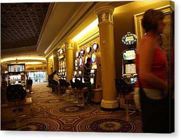 Las Vegas - Caesars Palace - 12122 Canvas Print by DC Photographer