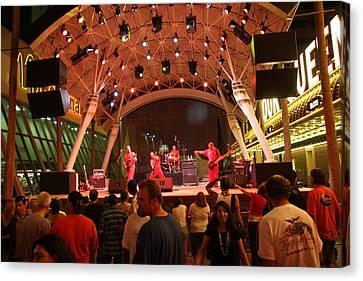 Las Vegas - Fremont Street Experience - 121211 Canvas Print by DC Photographer