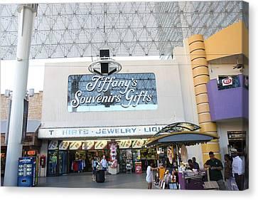 Las Vegas - Fremont Street Experience - 12123 Canvas Print