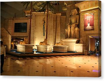 Egypt Canvas Print - Las Vegas - Luxor Casino - 12122 by DC Photographer