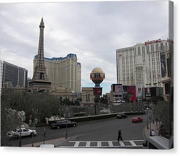 Las Vegas - Paris Casino - 12124 Canvas Print
