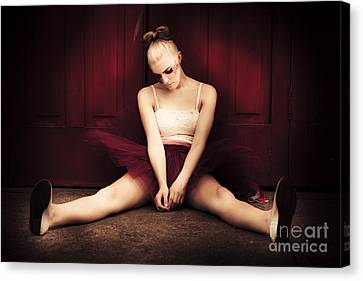 Frustration Canvas Print - Last Dance by Jorgo Photography - Wall Art Gallery