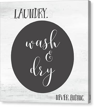Laundry II Canvas Print by Pamela J. Wingard