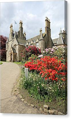 Lauriston Castle Canvas Print by Grant Glendinning