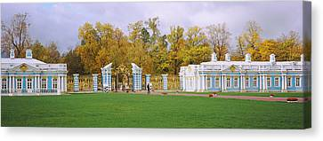Lawn In Front Of A Palace, Catherine Canvas Print