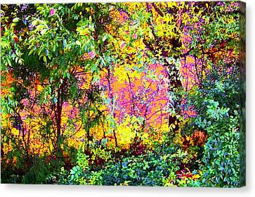 Leafy II Canvas Print by Shirley Moravec