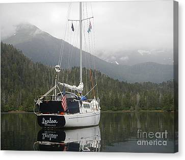 Lealea At Anchor Canvas Print