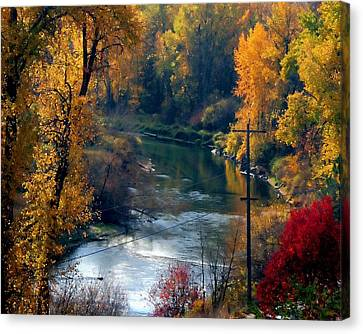 Leavenworth Fall Canvas Print by John Bushnell