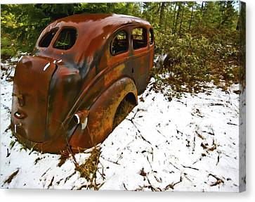 Left To Rust Canvas Print by Dale Stillman