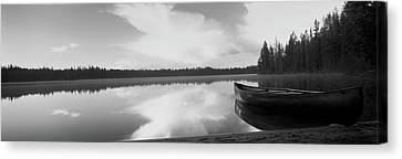 Leigh Lake, Grand Teton Park, Wyoming Canvas Print by Panoramic Images