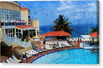 Public Holiday Canvas Print - Leisure Holidays by Xueyin Chen