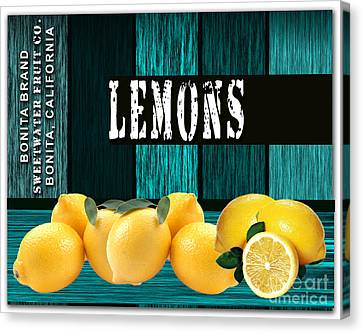 Lemon Farm Canvas Print by Marvin Blaine
