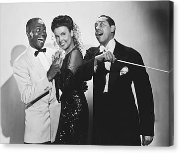 Lena Horne In Stormy Weather Canvas Print by Underwood Archives