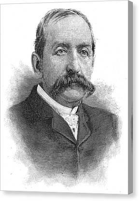 Leonard Jerome (1817-1891) Canvas Print by Granger
