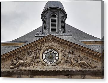 Historical Canvas Print - Les Invalides - Paris France - 011315 by DC Photographer