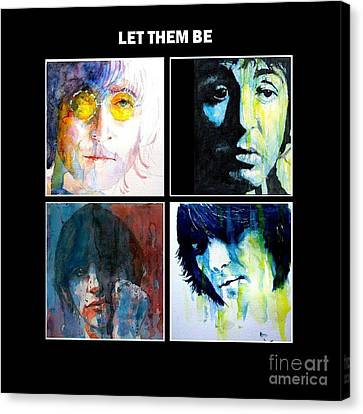 Let Them Be Canvas Print