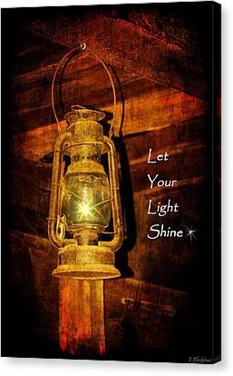 Let Your Light Shine Canvas Print by Jordan Blackstone