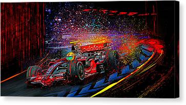 Lewis Canvas Print by Alan Greene