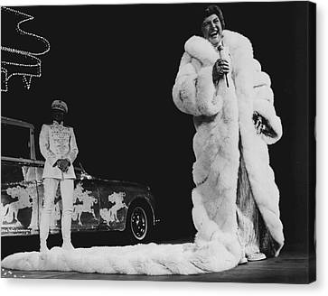 Glitter Canvas Print - Liberace by Retro Images Archive