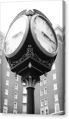 Liberty Mutual Clock Canvas Print