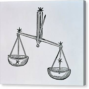Libra Canvas Print by Italian School